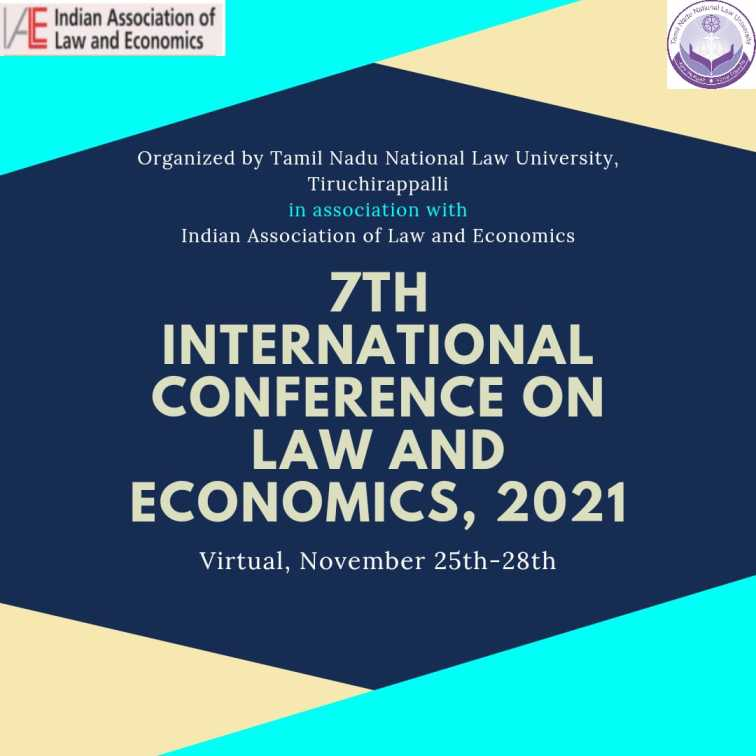 7th International Conference on Law and Economics |TNNLU