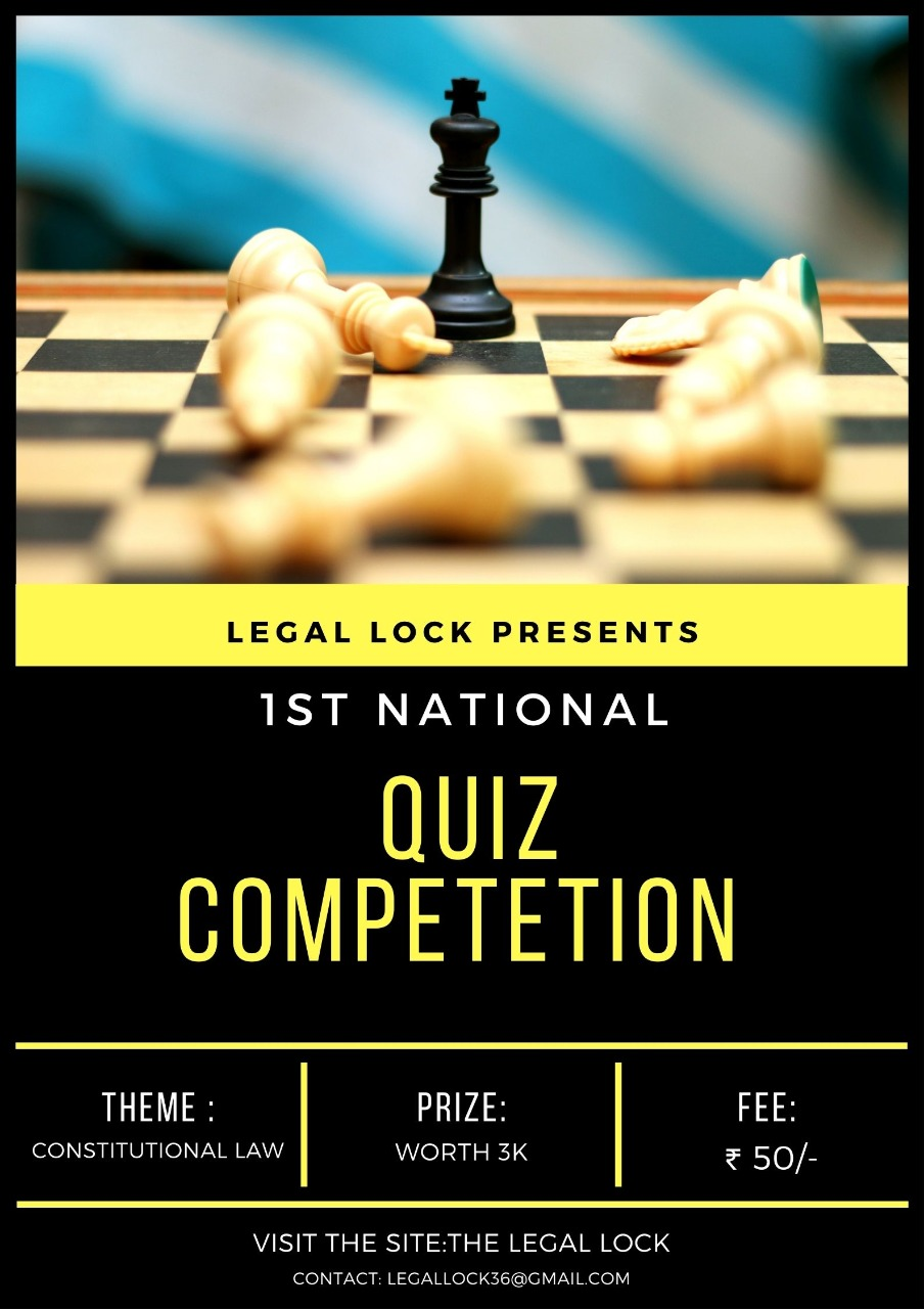 1ST NATIONAL QUIZ COMPETITION PRIZES WORTH 3K-REGISTER NOW!!