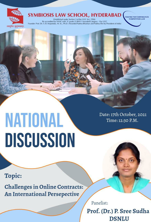 National Discussion |CCCL |Register Now!